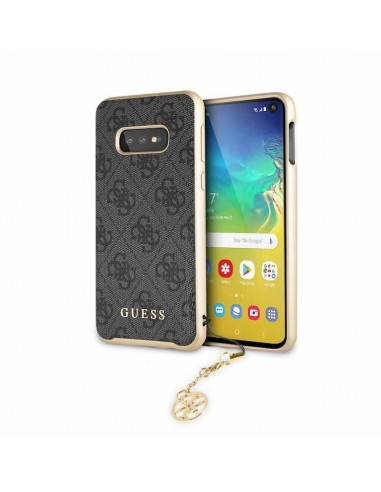 GUESS CARCASA CHARMS SAMSUNG S10 GRIS