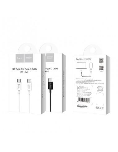 HOCO X23  cable carga Tipo C - Tipo C...