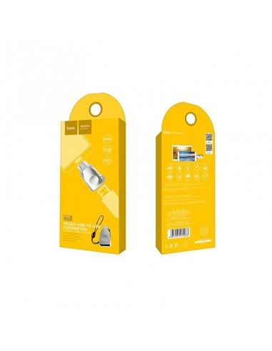 HOCO UA10 ADAPTADOR OTG MICRO-USB PEARL