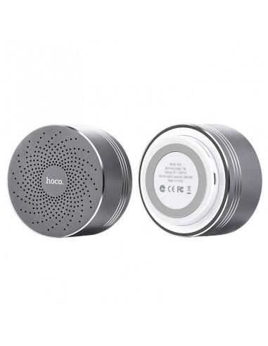 HOCO BS5 Swirl altavoces bluetooth plata